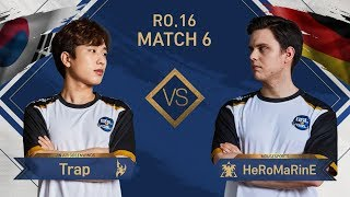 [GSL vs. the World 2019] Ro.16 Match6 Trap vs HeRoMaRinE