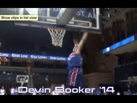 Devin Booker (KENTUCKY COMMIT) 2013 Summer Mixtape #BBN