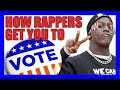 Four Ways Rappers Are Getting You to Vote