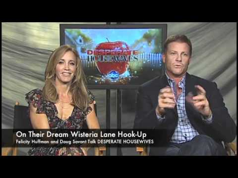 Felicity Huffman and Doug Savant Talk DESPERATE HOUSEWIVES