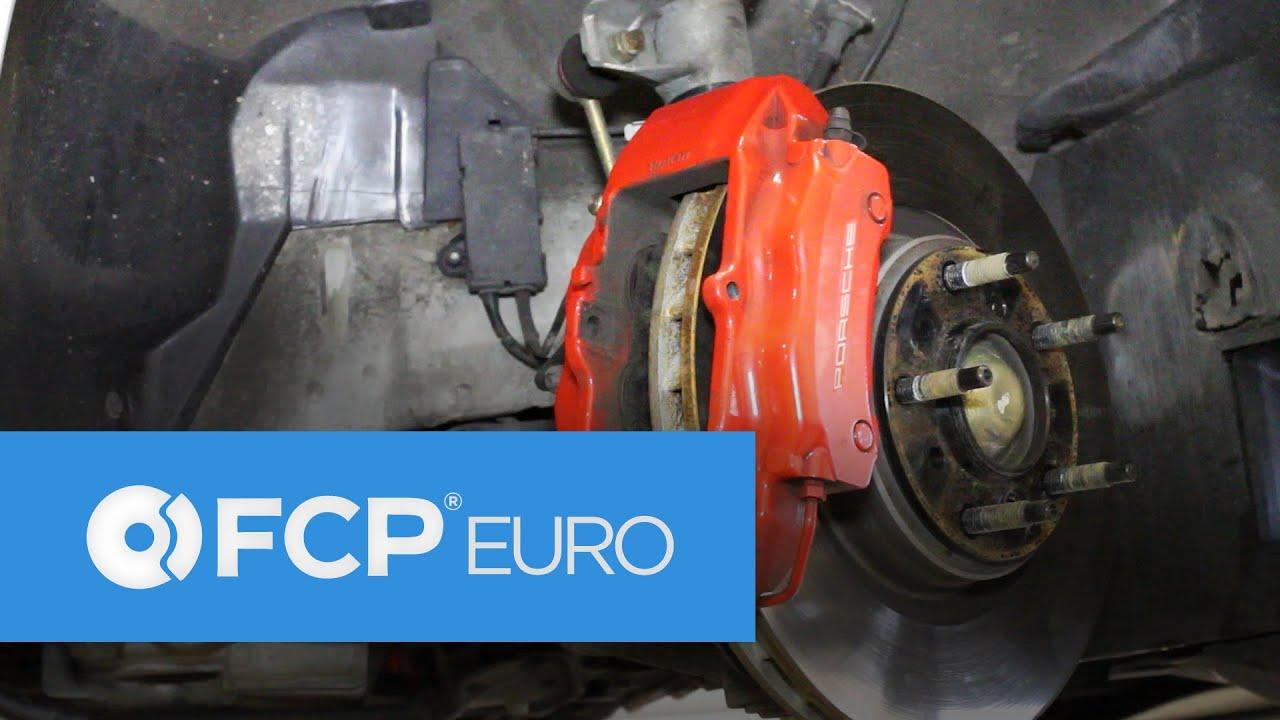 Brembo Brake Pads >> BMW E36 Front Brake Replacement (Meyle, Lisle, 4 Piston, Brembo, Porsche) FCP Euro - YouTube