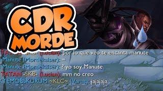 ¡LLORA HASTA QUE DESCUBRE QUE SOY MANUTE! CDR MORDEKAISER + SORTEO