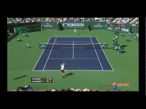 Murray vs. Donskoy - HIGHLIGHTS (Indian Wells, U.S.A. 2013) HD