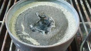 Home Chemistry: Using Thermite to Create Ruby?
