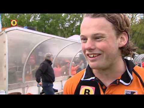 Oranje Zwart Eindhoven wint tweede play-off wedstijd tegen Kampong Utrecht