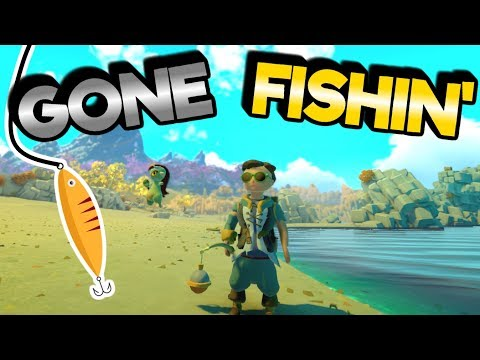 Yonder : The Cloud Catcher Chronicles - Gone Fishin' - #2 Lets Play Yonder Gameplay