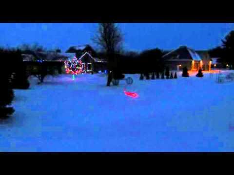 Darling Christmas Light Show 2013, Lucan Ontario Canada, 4 songs