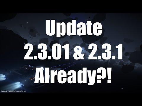 Elite: Dangerous - Update 2.3.01 & 2.3.1 Announced