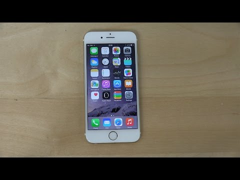 iPhone 6 Official iOS 8.2 - Review (4K)