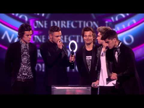 One Direction win British Video of the Year | BRITs Acceptance Speeches