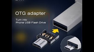 USB to Micro USB Male OTG Adapter с сайта GearBest.com