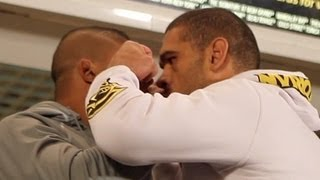 Alistair Overeem and Bigfoot Silva Get Heated... This is What They Said (Dana White)