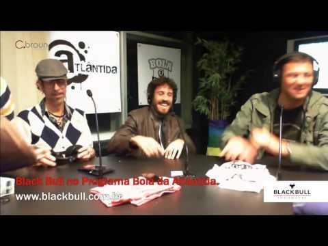 Black Bull no Programa Bola da Atlântida  - Jaqueta do Duda Garbi