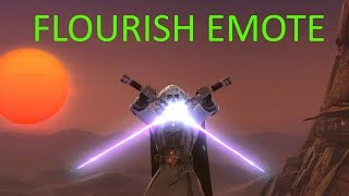 SWTOR - Flourish Emote - All Animations