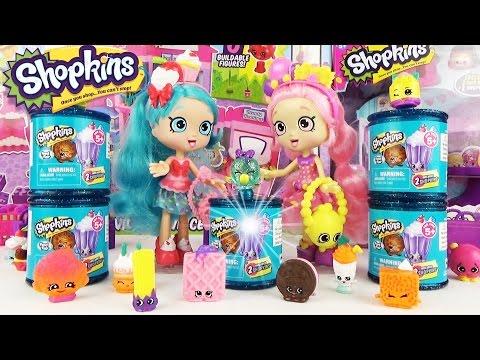 ШОПКИНС 4 сезон! Распаковка мультик, сравнение, подделки! Shopkins Season 4 Toys Fun Video for kids