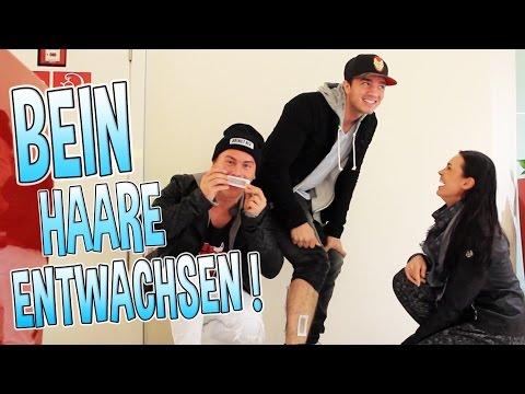 WENN DU EIER HAST! #4 | BEIN HAARE ENTWACHSEN!