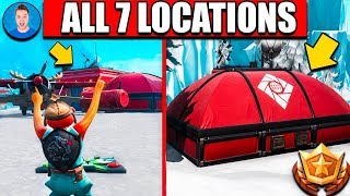 FORTNITE Visit all Expedition Outposts - ALL 7 LOCATIONS WEEK 7 CHALLENGES FORTNITE SEASON 7