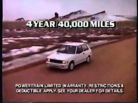 Yugo reklama iz 1988 godine
