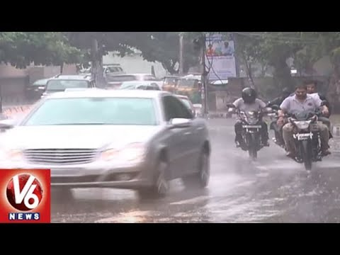 Weather Report | Moderate To Heavy Rainfall Expected In Telangana in 4 Days | V6 News
