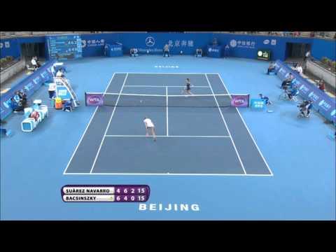 Carla Suarez Navarro 2015 China Open Hot Shot