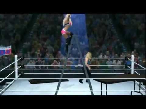 WWE 13 Diva Nude Glitch! WWE TNA