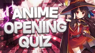 ANIME OPENING QUIZ | 2017 - 2018 | 30 SONGS [EASY - HARD]