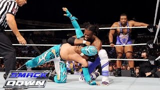 The Lucha Dragons vs. Kofi Kingston & Big E of The New Day: SmackDown, July 16, 2015