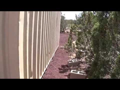 Shipping Container Review - Living off the grid Arizona Hot Homestead