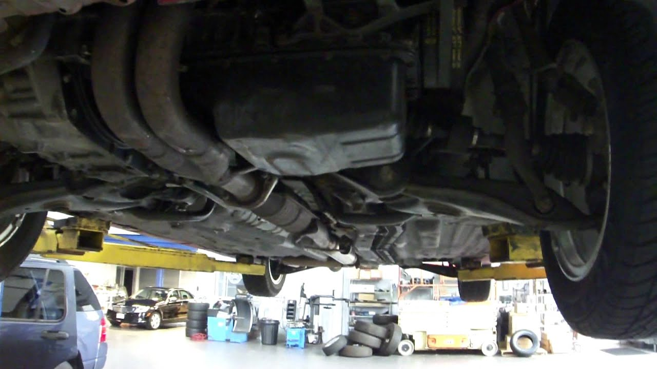 2000 Honda Civic Si Under Carriage Youtube