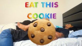 E.A.T MY COOKIE PRANK ON BOYFRIEND! 🍪🍪