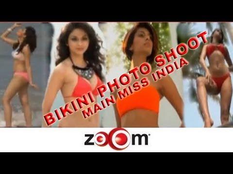 Bikini photo shoot - Main Miss India 2012