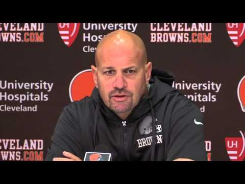Mike Pettine on the Cleveland Browns home opener vs. the Saints