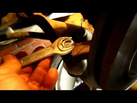 Руководство по ремонту и замене рулевых наконечников Renault Logan