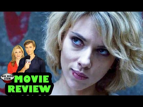 LUCY - Scarlett Johansson, Morgan Freeman - New Media Stew Movie Review