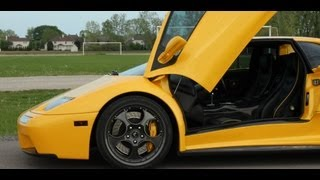 What is it like driving a Lamborghini Diablo?