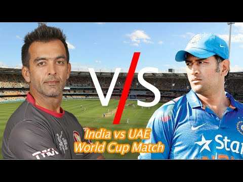 India vs UAE cricket match in ICC World Cup 2015
