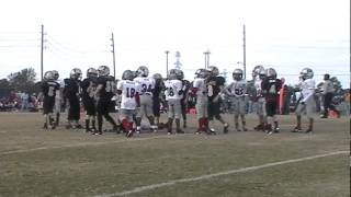 2011 Katy Youth Football Junior Varsity Buccaneers Vs Saints Playoffs part 2