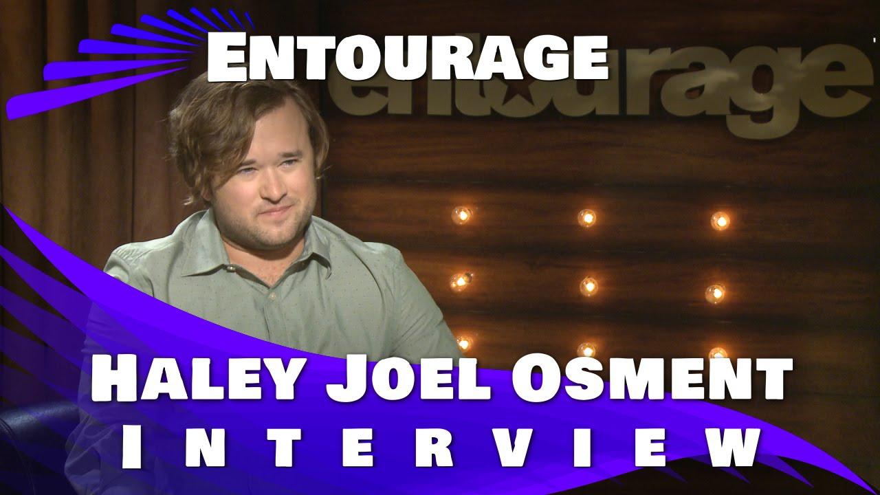 Haley Joel Osment Entourage Haley Joel Osment Interview