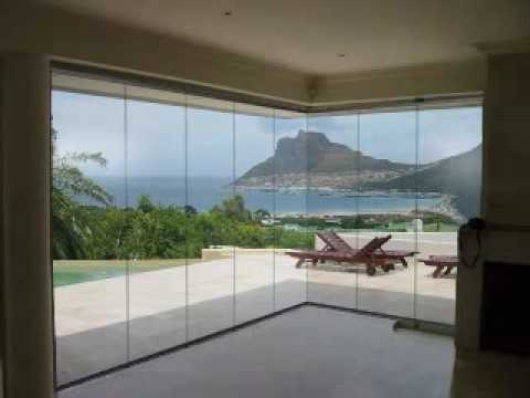 Sliding Stacking System By Cover Frameless Glass Youtube