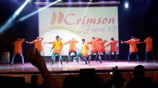 Boyzz of Final Year #Crimson Fiera Culfest 2K17, SSGMCE