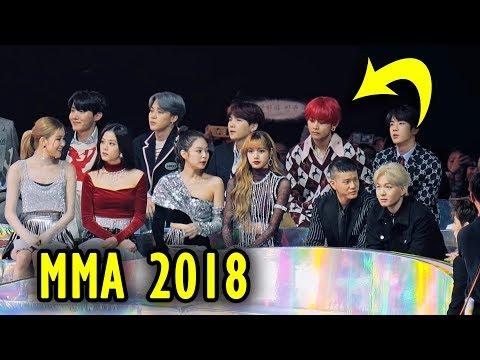 BTS MMA 2018 reactions Blackpink mostly 😆