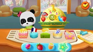 Baby Panda Ice Cream Maker | Chef & Dessert Shop | Game Preview | BabyBus Game
