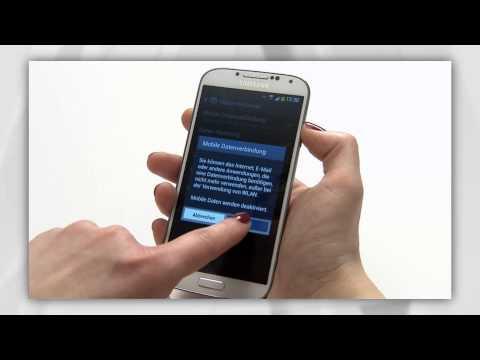 Samsung Galaxy S4: Datenroaming ausschalten