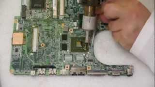 BGA Rework NVidia GPU - Full Process