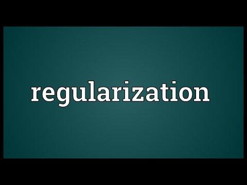 Header of regularization