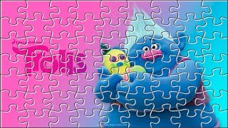 TROLLS Jigsaw Puzzle ★ Games and Cartoons for Kids