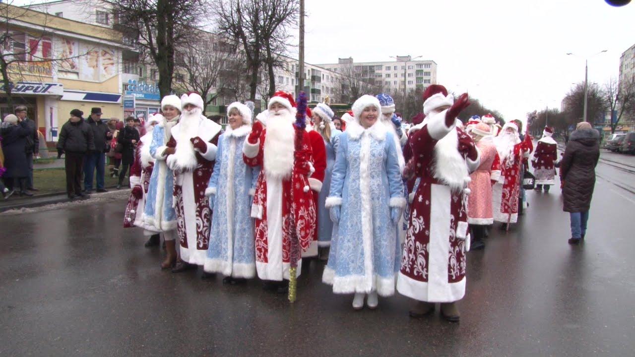 Новый год 2017 в солигорске