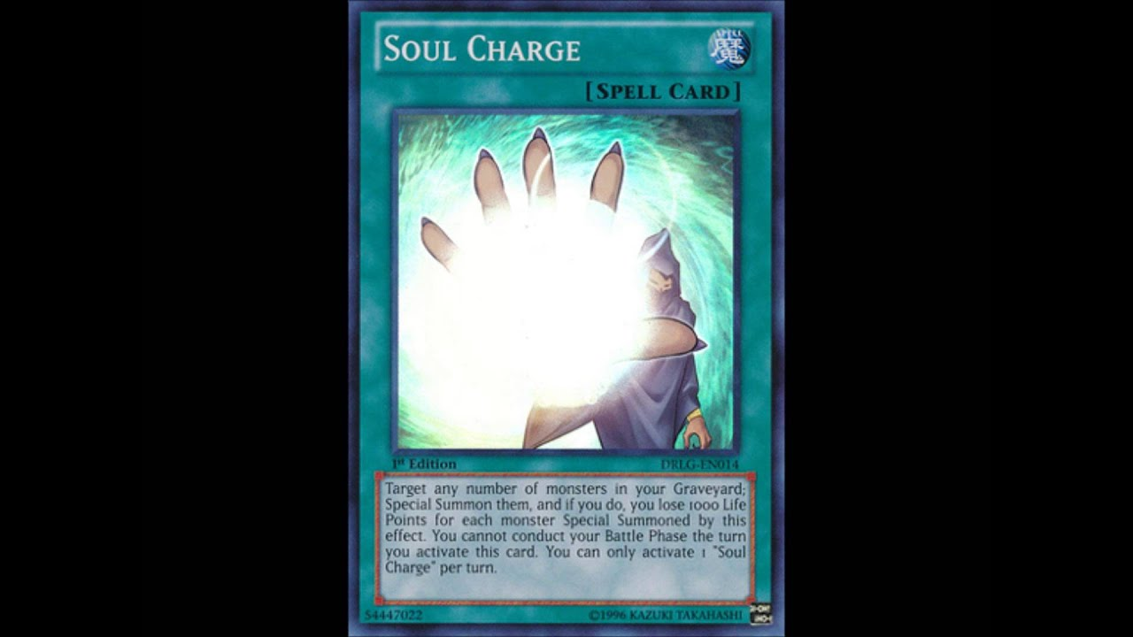 Yugioh Soul Charge Discussion-soul Charge