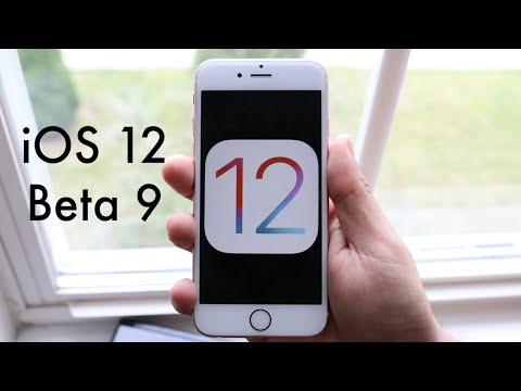 iOS 12 BETA 9 On iPHONE 6S! (Speed Decrease) (Review)