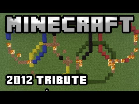 Minecraft Olympics (London 2012 Tribute)
